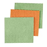 Casabella Sponge Cloths, 3-Pack, Assorted Colors