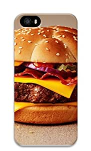 iPhone 5 5S Case Cheeseburger125 3D Custom iPhone 5 5S Case Cover
