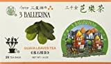 3 Stars 100% Pure Guava Leaf Tea - 20 Tea Bags (1.6 Oz) by 3 Ballerina