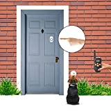 Wireless-Human-Pet-Doorbell-IdealHouse-Transmitter-and-Receiver-Operating-at-Over-500-Feet-Range-52-Chimes-LED-Indicator-with-Smart-Pet-Training-Ring-Door-Bell-for-Small-Medium-Large-Cat-Dog