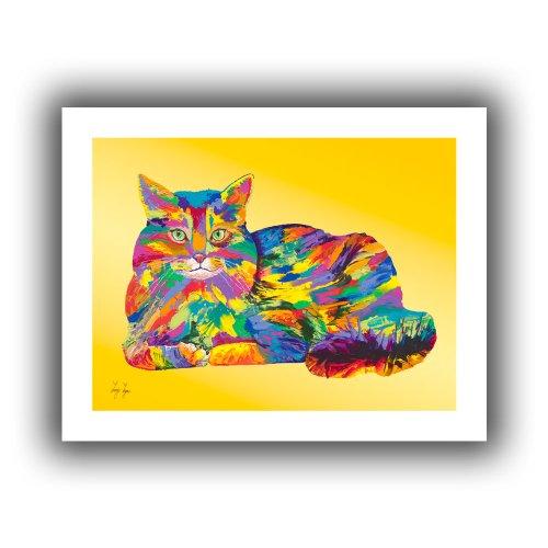 ArtWall Lynn-008-36×48 Linzi Lynn Giles Unwrapped Canvas Artwork, 40 by 52-Inch