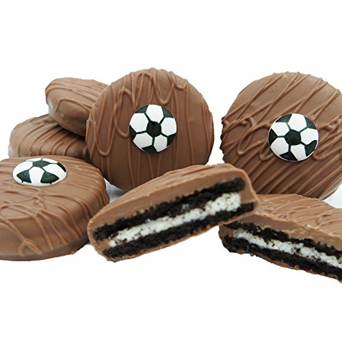 Philadelphia Candies Milk Chocolate Covered OREO Cookies, Soccer Gift Net Wt 8 oz ()