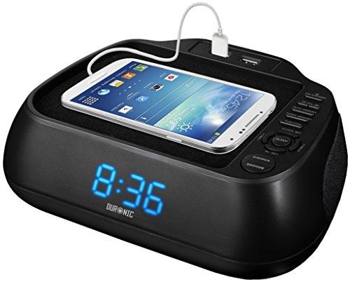 Duronic ACR02 Radio FM Despertador Digital con Alarma y ...