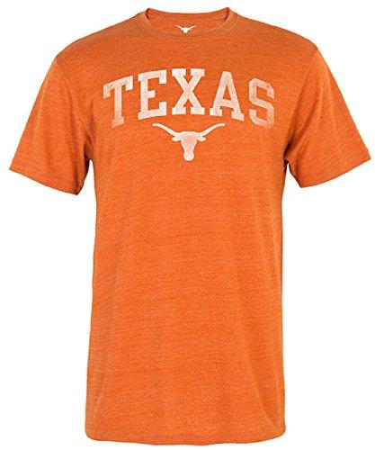 289c apparel Texas Longhorns Mens Worn Arch Short Sleeve T Shirt (X-Large) ()