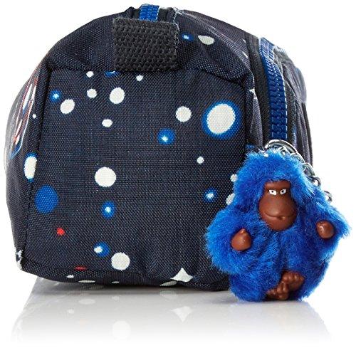 Kipling - CUTE - Medium Federmäppchen - True Blue - (Blau) Galaxy Party