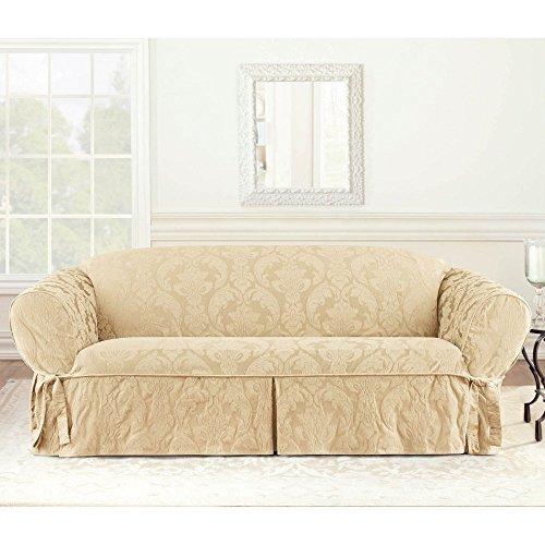 Surefit Matelasse Damask Sofa Cover