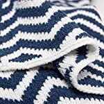 Living-Textiles-Chevron-Chenille-Baby-Blanket-Navy