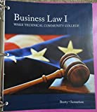 img - for Business Law 1 (Wake Technical Community College book / textbook / text book