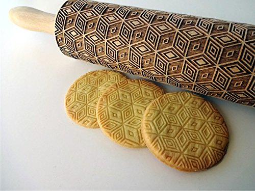 Image result for An engraved rolling pin