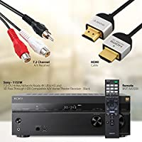 NeeGo Sony Home Theater System with STRDN1080 7.2 Channel Dolby Atmos A/V Receiver & DLC-HE20S Slim HDMI Cable … by NeeGo