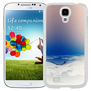 Beautiful Unique Designed Samsung Galaxy S4 I9500 i337 M919 i545 r970 l720 Phone Case With Lake Formation Infrared_White Phone Case
