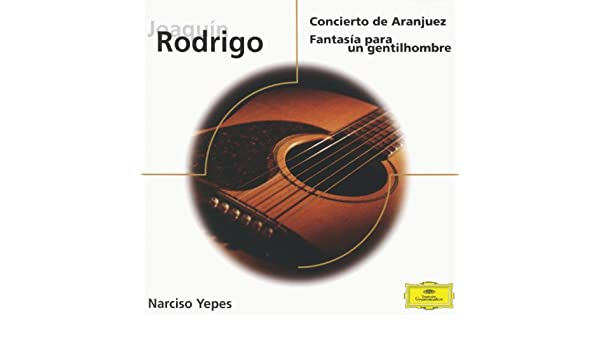 Amazon.com: Concierto De Aranjuez: Narciso Yepes and Odón Alonso and Spanish R.T.V. Symphony Orchestra: MP3 Downloads