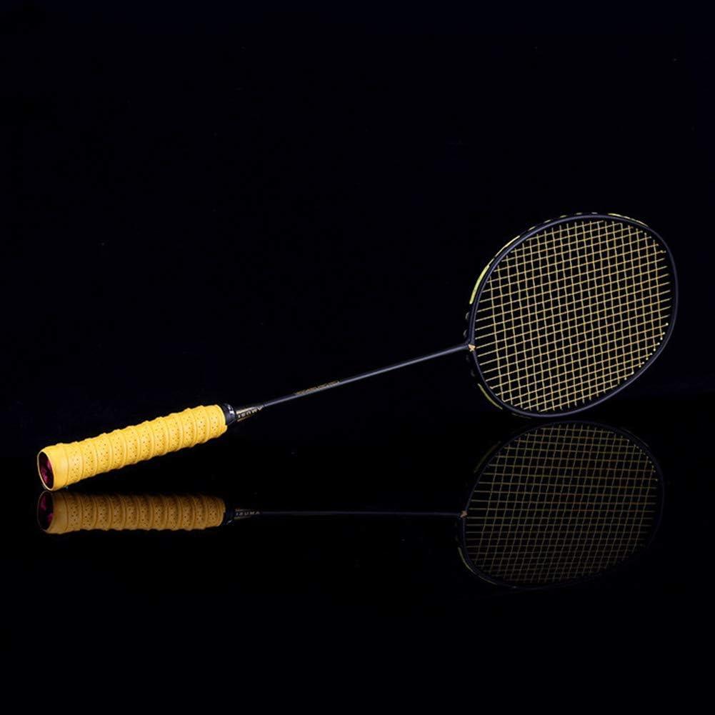 RONSHIN 1pc Professional Ultra-light 4U Carbon Badminton Racket 22-32 LBS Exercise Intensity Battledore Hand Glue Outdoor Supplies Line