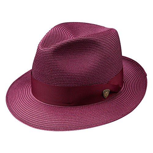 Dobbs DSRBUD-1521 Rosebud Hat, Burgundy - 7 1/8