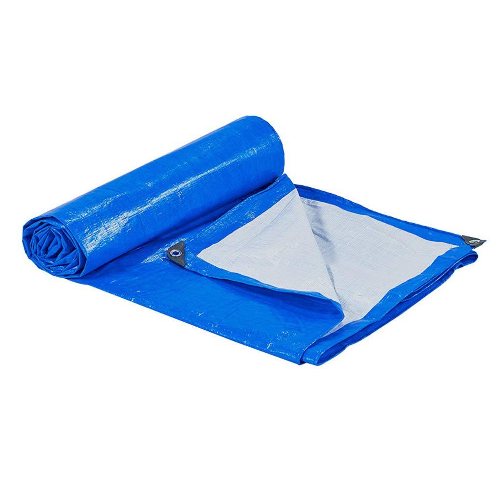 DWSD13 Verdicken Sie Regenproof-Tuch-Plane-Plastikstoff-Markise-Stoff-Sonnenschutz Sonnencreme-Dreirad-Abdeckungs-Stoff-LKW-Plane-Regen-Abdeckungs-Fracht-staubdichte Schatten-Licht-Vielzahl