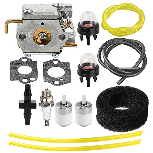 Harbot 753-04408 Carburetor with Tune Up Kit for Troy Bilt TB320BV TB310QS Yard Man YM320BV YMGBV3100 YM1000 YM1500 YM300 YM400 Ryobi MTD 320BVR RGBV3100 Blower 753-04144 by Harbot (Image #4)