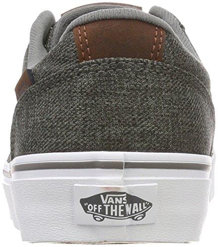 para Gris Stripe S18 Hombre Chapman Zapatillas Menswear Vans SAvpg