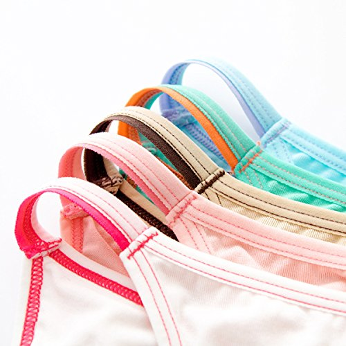POKWAIWomen Interior Modal Calzoncillos Pantalones De Cintura Baja Atractivo Sin Fisuras Super Elastic A14