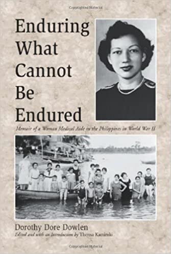 Book Enduring What Cannot Be Endured: Memoir of a Woman Medical Aide in the Philippines in World War II