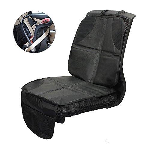 ZhongYeYuanDianZiKeJi 1Pc Car Seat Protectors For Child Seats Car Seat Mat Anti-slip Safety Cushion Cover with Storage Pocket: