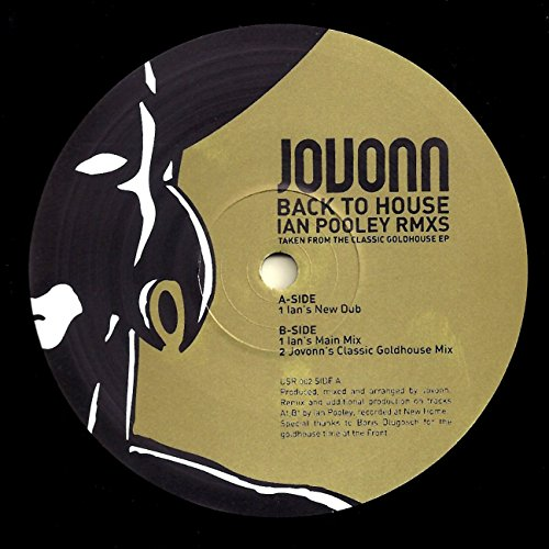 Back To House  Ian Pooley Remixes