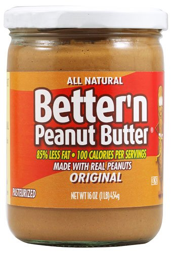 Better N Peanut Butter Original Creamy -- 16 oz - 2 pc