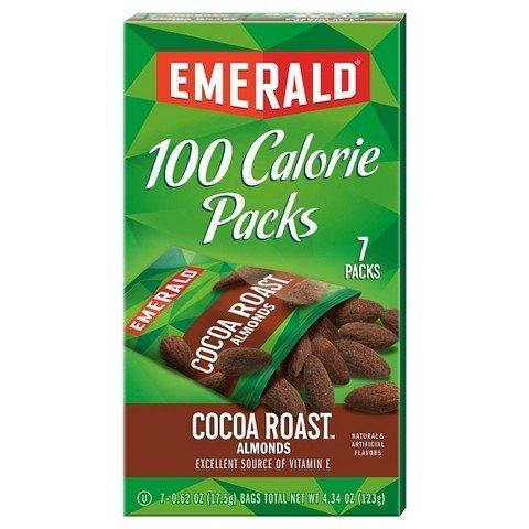 Roast Almonds - Emerald Dark Chocolate Cocoa Roast Almonds 100 Calorie 7 ct TRG