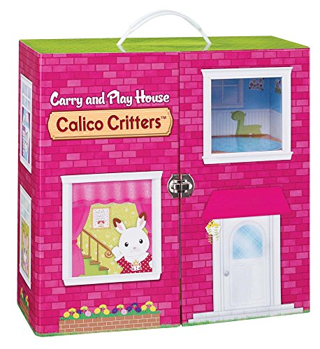 Calico Critters Carry and Play House (Calico Carry Case)