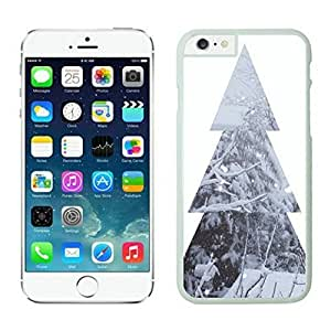 Iphone 6 Plus case,Christmas tree Iphone 6 Plus case White Cover