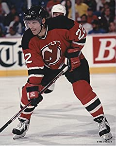Claude Lemieux New Jersey Devils Unsigned Hockey Photo