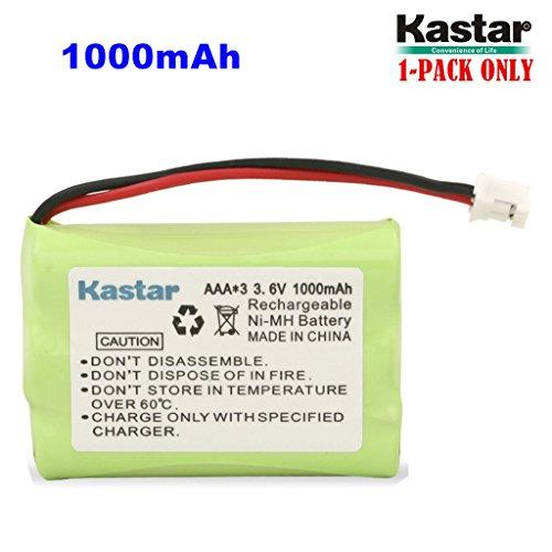 Kastar 1-PACK AAAX3 3.6V PH 1000mAh Ni-MH Battery for Motorola MBP33, MBP36 MBP36PU Baby Monitor, TFL3X44AAA900 CB94-01A and Graco 2795DIG1, 2791, 2796VIB1, TMK NI-MH, iMonitor Vibe