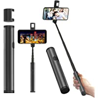 Obvie Magic Pipe Mini Extendable Bluetooth Selfie Stick with Magnetic LED Fill Light