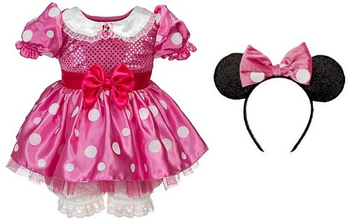61545fcd6 Disney Store Minnie Mouse Halloween Costume Dress for Baby and Toddler Girls:  Size 3T (