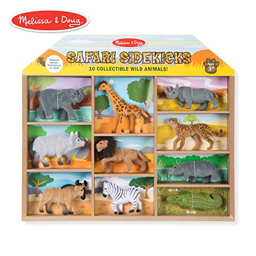 Melissa & Doug Safari Sidekicks Classic Play ()