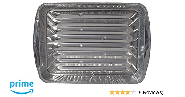 8845ee9c3c2 Amazon.com: Durable Packaging Disposable Aluminum Broiler Pan, Large (Pack  of 500): Industrial & Scientific
