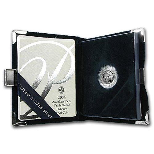 (2004 W 1/10 oz Proof Platinum American Eagle (w/Box & COA) Collection Brilliant Uncirculated)