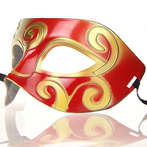 Hagora, Unisex 12 pcs Fine Multicolored Antique Design Masquerade Masks by Hagora (Image #5)