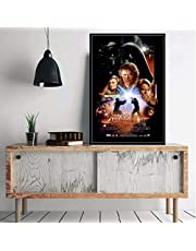 Star Wars Episode 3 Revenge of The Sith Classic Movie Series Art Painting Silk Canvas Poster Wall Home Decor 40 * 60Cm No Frame