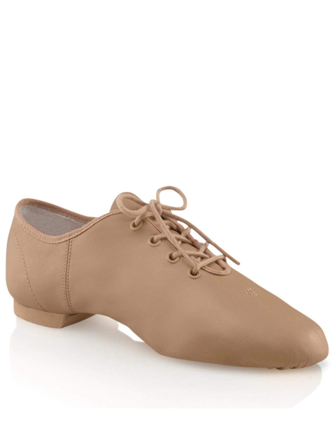 Capezio Women's ''E'' Series Jazz Oxford,Caramel,9 W US by Capezio