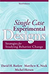 Single Case Experimental Designs: Strategies for Studying Behavior Change (3rd Edition) Hardcover