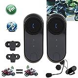 Motorcycle Helmet Bluetooth Intercom , ODGear Uodata T-COMVB BT Wireless Headphone Interphone Headset 2.4GHz Three Riders 800 Meters Talking Range