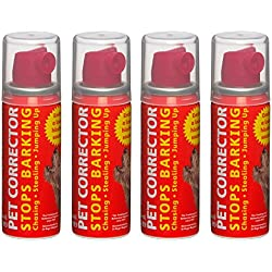 The Company of Animals Pet Corrector Bad Behavior and Training Aid - Quickly Stops Barking, Jumping, Digging, Chewing – Harmless and Safe- 30ml, Pack of 4