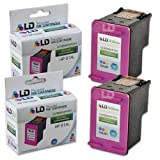LD Remanufactured Ink Cartridge Replacements for HP 61XL CH564WN High Yield (Color, 2-Pack)