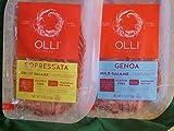 Olli Salami Pre-Sliced 2-4 ounce Packs-Sopressata & Genoa Salami