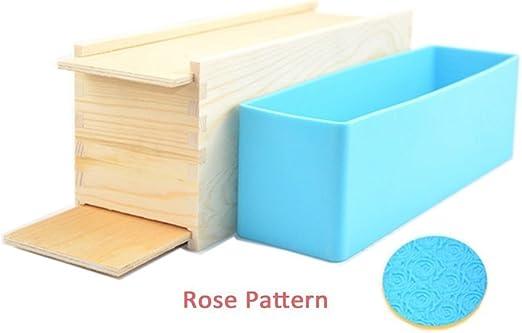 holdsun 1 pieza x molde para hacer jabón Moldes de silicona con ...