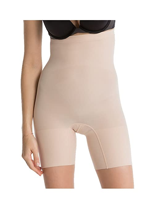 748db2e84c5f SPANX Women's Higher Power Shorts, Soft Nude, Large: Amazon.ca: Clothing &  Accessories