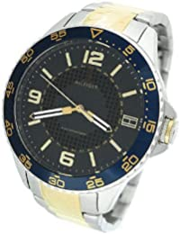 1790839 blue dial two-tone stainless steel men watch NEW