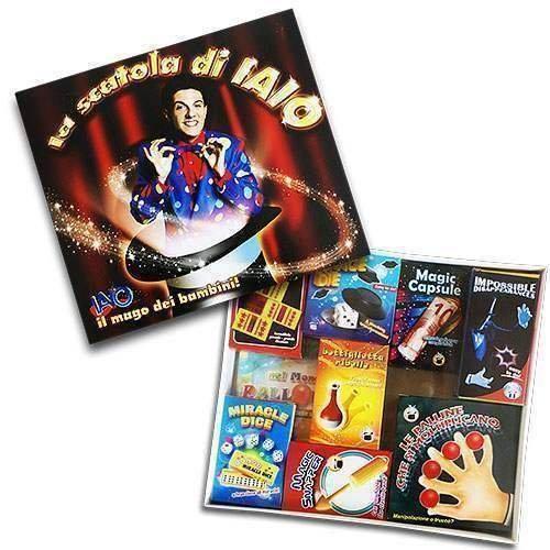 SOLOMAGIA La Scatola di Iaio - Magic Kit - Magia per Bambini - Kit Magici - Giochi di Magia Di Fatta
