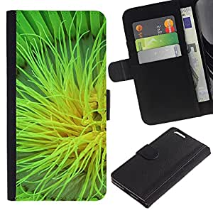 Ihec-Tech / Flip PU Cuero Cover Case para Apple Iphone 6 PLUS 5.5 - Plant Nature Forrest Flower 105