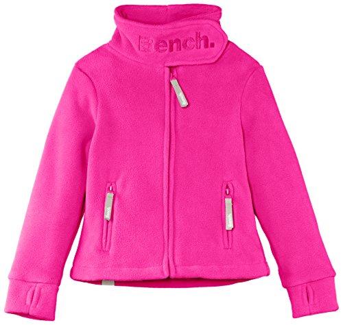 Bench Mädchen Jacke Fleecejacke Funnel Neck rosa (Rose Violet) 13-14